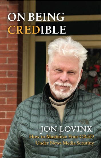 Book Cover for On Being Credible by Jon Lovink